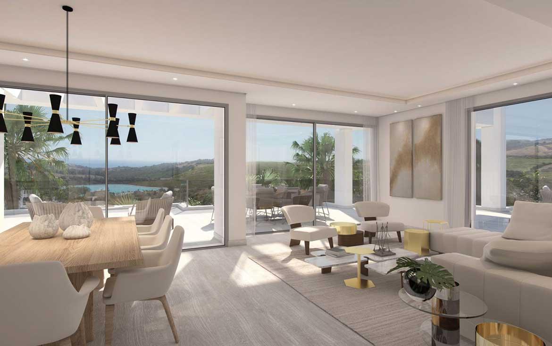 Living room of Alcazaba Lagoon