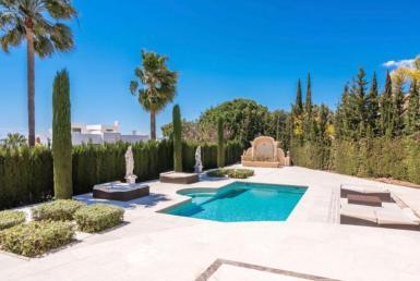 pool of sierra blanca villa