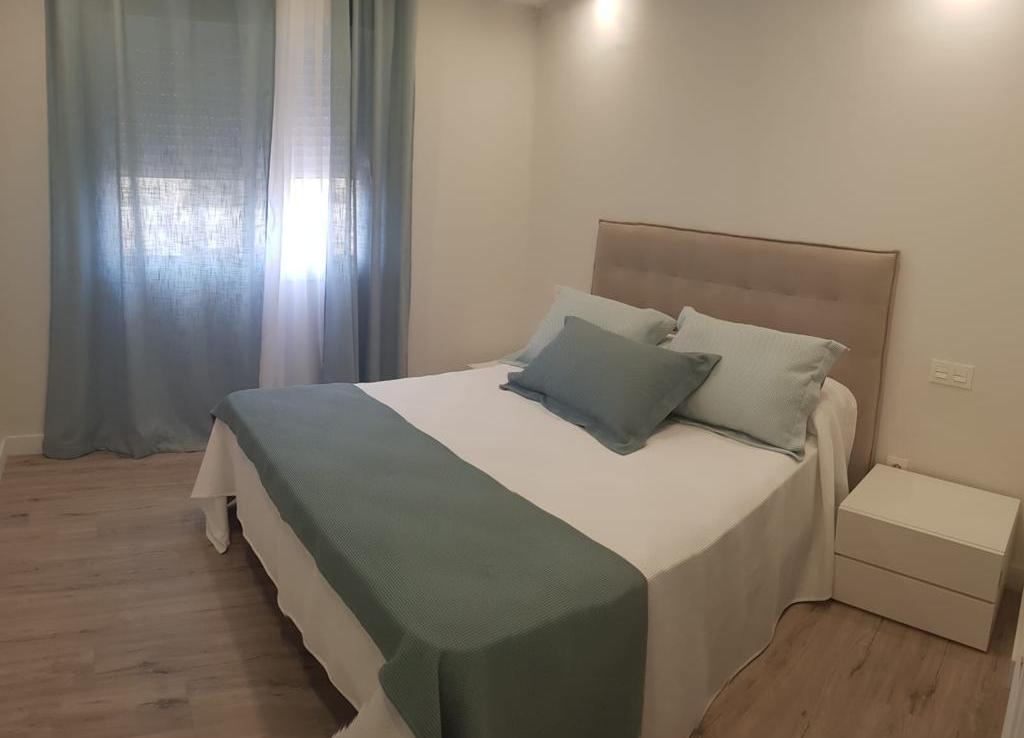 Bedroom of apartment in marbella center