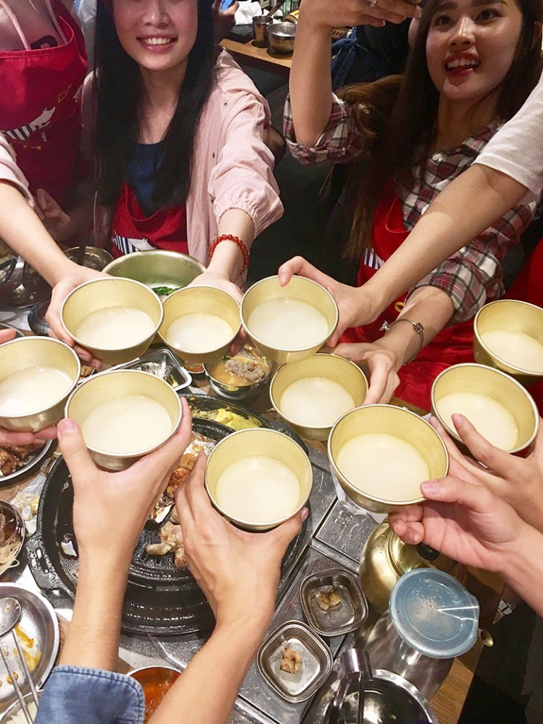 20 Unique Experiences in Korea   What to Do, See and Eat in Seoul, Korea: Drink Makgeolli and Soju   www.chloestravelogue.com