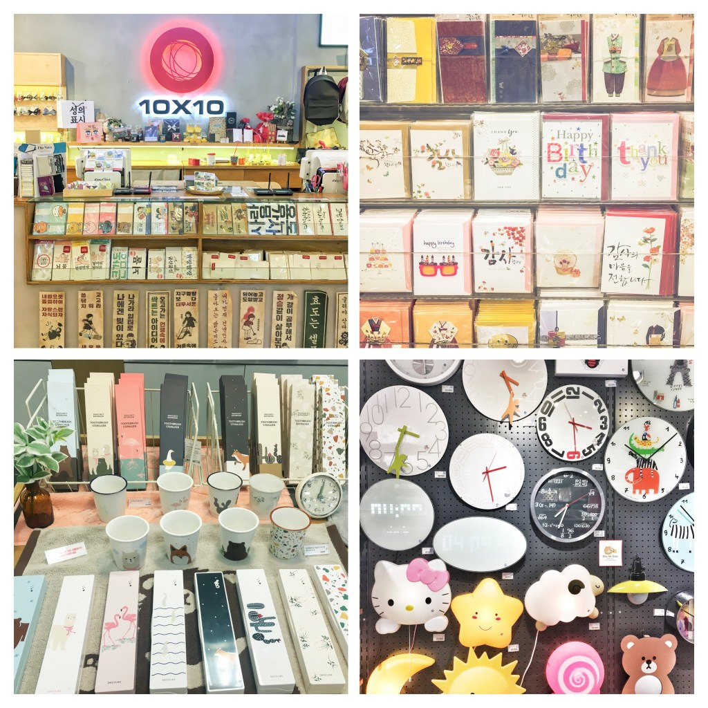 20 Unique Experiences in Korea | What to Do, See and Eat in Seoul, Korea: Shop Cute Stationery | www.chloestravelogue.com