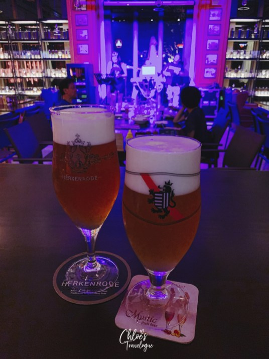 Best Rooftop Bars in Kaohsiung - Belgian Beer at Beer Talk in Pier 2 Art Center | #Kaohsiung #Taiwan #foodguide #KaohsiungFood #KaohsiungBar #rooftopbar #Belgianbeer