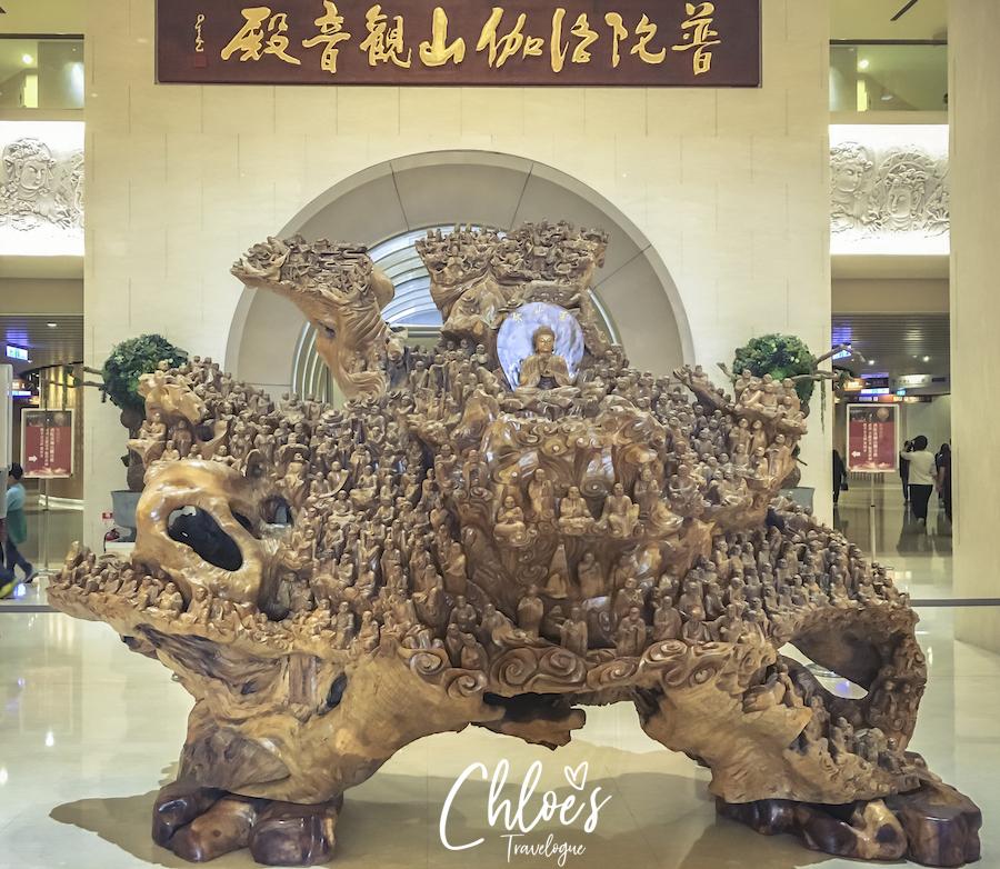 Kaohsiung Itinerary Day 3: See the Biggest & Tallest Buddha Statues at Fo Guang Shan   #Kaohsiung #Taiwan #FoGuangShan #Buddha