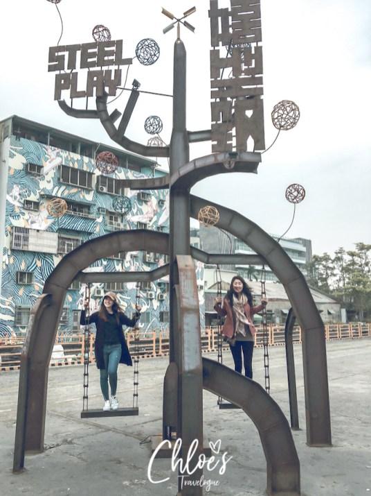 Kaohsiung Itinerary Day 1: Sizihwan Pier 2 Art District   #Kaohsiung #Taiwan #Sizihwan #Pier2