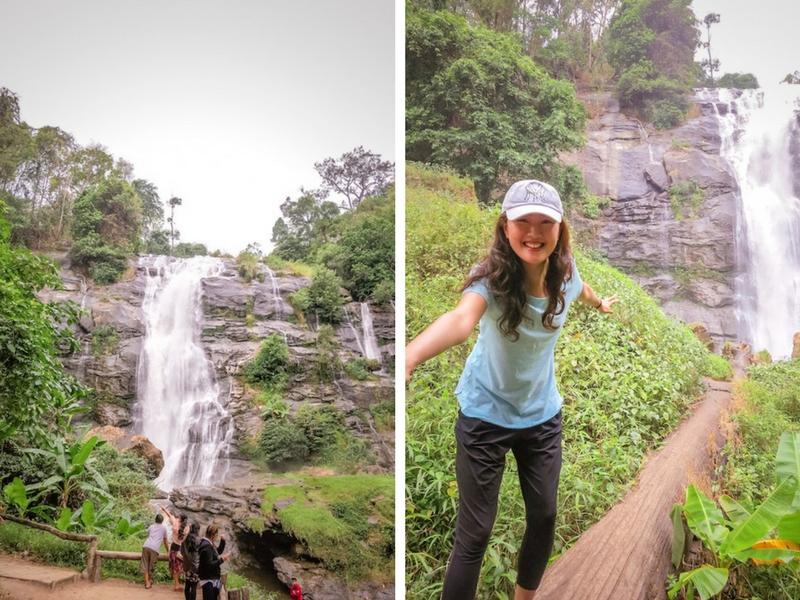 Day Trip from Chiang Mai | Watchiran Waterfall - Chase waterfalls at Doi Inthanon National Park | www.chloestravelogue.com #ChiangMai #Thailand #DoiInthanon #NationalPark #HighestPointinThailand #Daytrip #waterfall