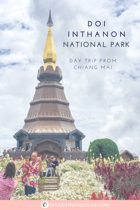 Place to Visit in Chiang Mai | Doi Inthanon Tour - National Park with Mystic Hiking Trails, Spectacular Waterfalls, Royal Pagodas with Vibrant Flower Garden and Hill Tribes | www.chloestravelogue.com #ChiangMai #Thailand #DoiInthanon #NationalPark #HighestPointinThailand #Daytrip #Hmong #ThaiHillTribes #Coffee #flower