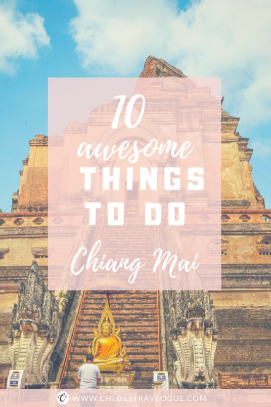 Planning a trip to Northern Thailand? Check out this 10 Fun Things to Do in Chiang Mai | Top 4 Chiang Mai Temples and beyond | #ChiangMai #Thailand #ChiangMaiTemples #nightbazaar #ChiangMaiMarket #ChiangMaifood #ChiangMaiCafe #satanlatte #KhaoSoi