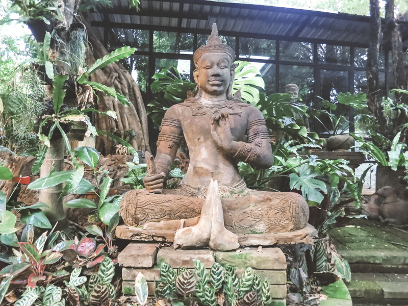 Things to Do in Chiang Mai | Visit the Serene Terra Cotta Garden | www.chloestravelogue.com #ChiangMai #Thailand #TerraCotta #SereneGarden #CafeCulture #ThailandInsider