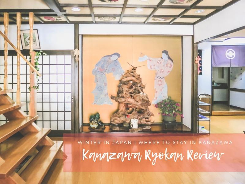 Winter in Japan | Kanazawa Hotel Review: Sumiyoshiya Ryokan
