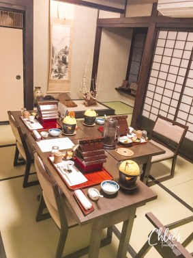 """Takayama Ryokan Review   Kaiseki Ryori is a course meal made with local and seasonal specialities served at traditional inn, """"Ryokan."""" It's Japanese cuisine art that all travelers must experience at least once in a life time.   #Takayama #TakayamaRyokan #JapaneseRyokan #Ryokan #Kaiseki #JapaneseCuisine #hidabeef #hodamiso #Ikemori-namasu   chloestravelogue.com"""
