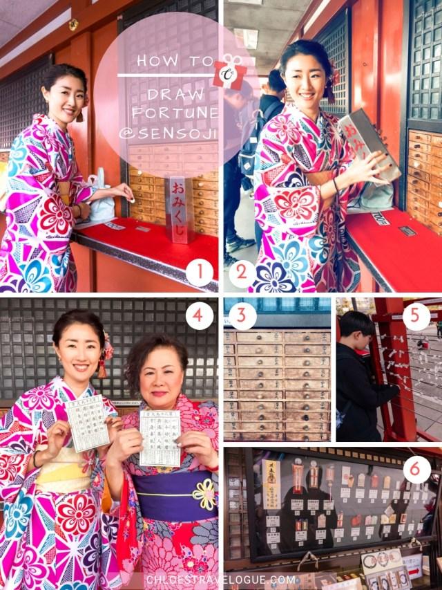 Things to Do in Asakusa | How to Draw Forunte at Sensoji Temple | #Asakusa #Tokyo #ThingstoDoinAsakusa #KaminarimonGate #Nakamise #Sensoji