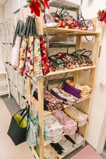 Kimono Rental | Kinchaku is a traditional Japanese drawstring purse. | #kimono #Asakusa #Tokyo #ThingstoDoinAsakusa #kimonoRental #kinchaku