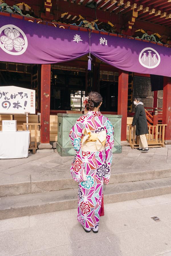Kimono Rental | Kimono Obi (sash) can be knotted in the shape of flower, bird or butterfly. | #kimono #Asakusa #Tokyo #ThingstoDoinAsakusa #kimonoRental #obi #knot