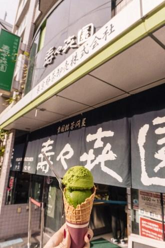 Asakusa Food | Suzukien Matcha Ice Cream Level 1-7 | #Asakusa #Tokyo #ThingstoDoinAsakusa #AsakusaRestaurant #Nakamise #AsakusaFood #Suzukien #Matcha #MatchaIceCream