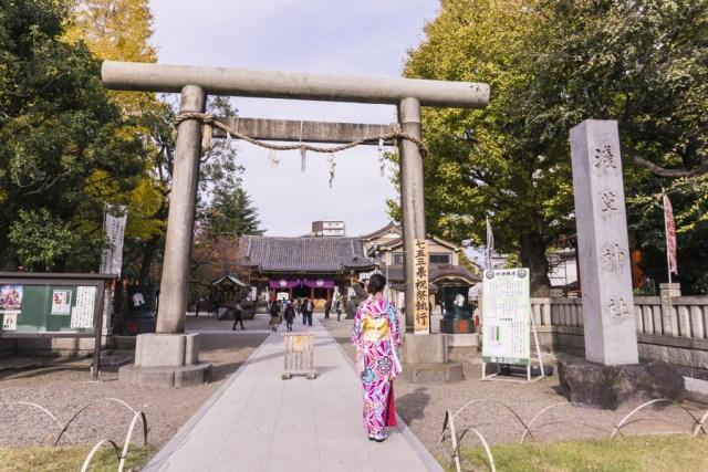 Things to Do in Asakusa   Tokyo Must See - Asakusa Shinto Shrine   #Asakusa #Tokyo #ThingstoDoinAsakusa #KaminarimonGate #Nakamise #Sensoji #AsakusaShrine