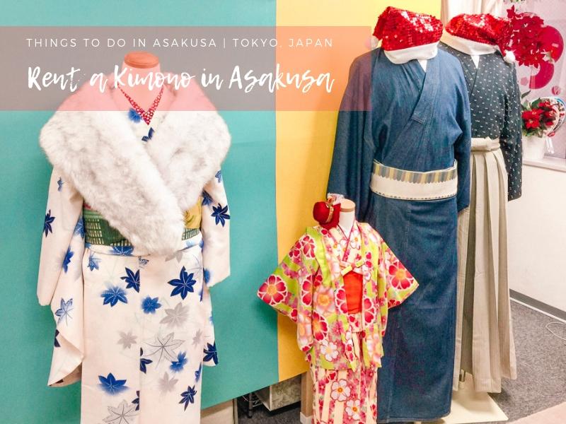 How to Rent a Kimono in Asakusa, Tokyo