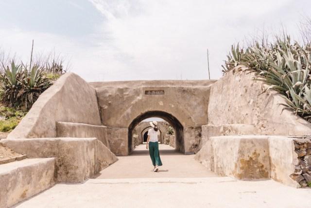 Penghu Taiwan 3 Day Itinerary | Day 2 Xiyu & Baisha: Xiyu Western Fort #Penghu #Taiwan #澎湖