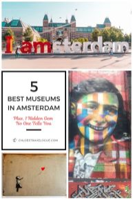5 Best Amsterdam Museums (+ 1 Hidden Gem) | Why you should NOT miss these museums | Money & Time Saving Tips | #AmsterdamMuseums #iAmsterdam #AmsterdamThingstoDo #AmsterdamBucketList #Amsterdam #Holland