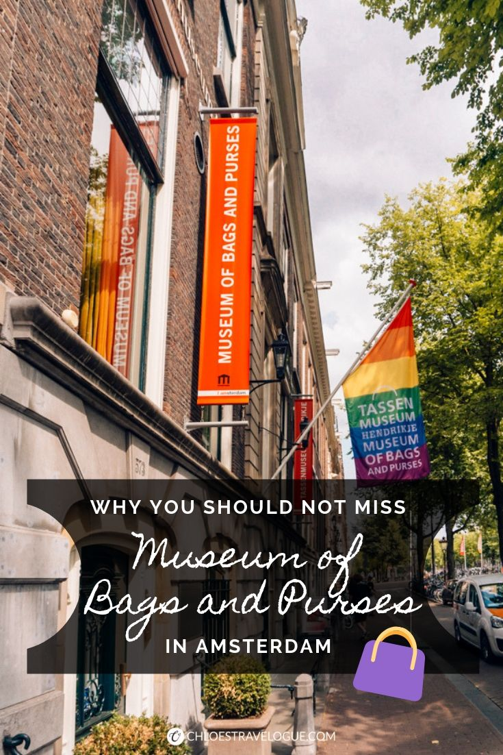 A Visitor's Guide to the Hidden-gem Museum in Amsterdam No One Tells You | Why you should not miss the Museum of Bags and Purses | #Amsterdam #Holland #AmsterdamMuseums #iAmsterdam #AmsterdamThingstoDo #AmsterdamBucketList #MuseumofBagsandPurses