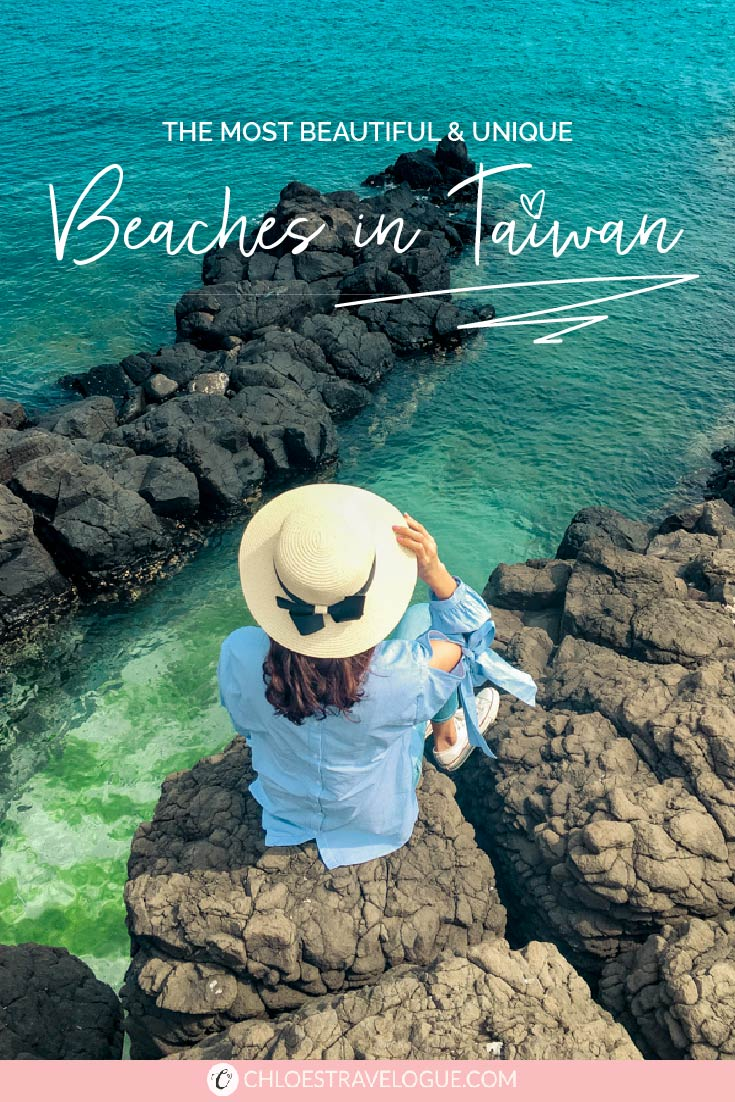 Best Beaches in Taiwan | Discover the most beautiful coastal Lines and stunning oceanside view in Asia! The best part? They are hidden gems and never get crowded. | #Taiwan #TaiwanBeaches #BeachVacation