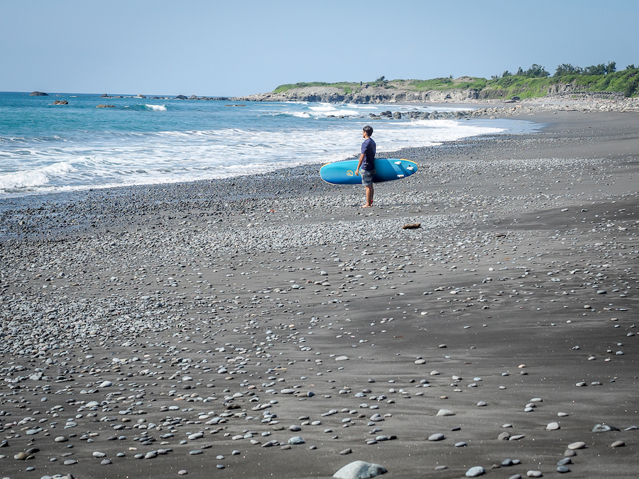 Dulan Beach in Taitung | Taiwan's most well-known surf town with the art scene and hippie vibe | #DulanBeach #TaiwanBeaches