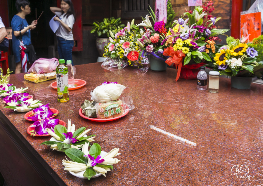 Longshan Temple - Offering for Education God