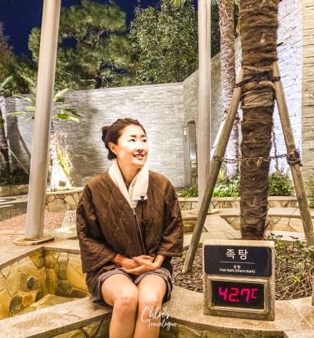 Spa Land Centum City Busan | Korea's Best Luxury Jimjilbang (Korean sauna and spa) - Outdoor Foot Bath |#SpaLandBusan #SpaLandCentumCity #CentumCityBusan #luxuryspa #jimjilbang #jjimjilbang #Busan #Korea #ThingsToDoinBusan #BusaninWinter #AsiaTravel #TravelKorea