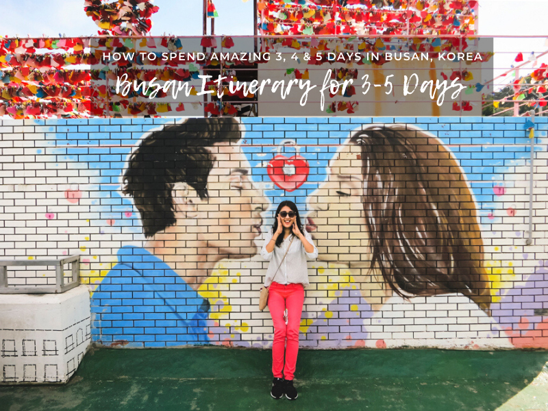 Busan Itinerary 5 Days