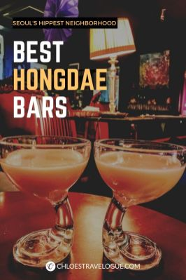 Best Bars in Hongdae, Seoul: Hongdae is a great place to hop different bars on weekends. Check out my favorite Hongdae bars with excellent bar food and Korean spirits. | #Hongdae #Seoul #HongdaeBar #Makgeolli #TravelKorea #AsiaTravel