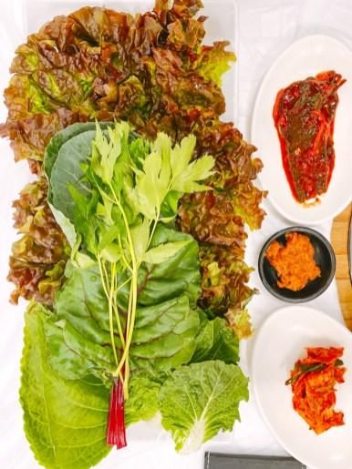Gyeongju Food to try: Gyeongju Ssambap (or Gyodong Ssambap) | #Gyeongju #GyeongjuFood #KoreanFood #SouthKorea #Korea #KoreaTravel #AsiaTravel