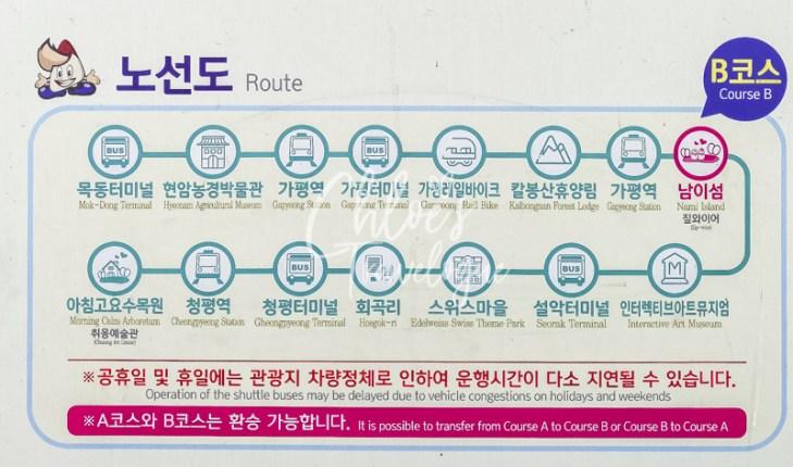 How to go from Nami Island to Garden of Morning Calm | #NamiIsland #GardenofMorningCalm #Gapyeong
