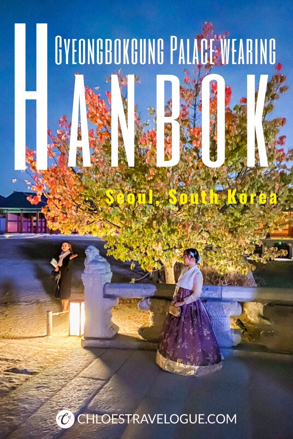 Why you should wear hanbok to Gyeongbokgung Palace & where to rent nearby | #Gyeongbokgung #hanbok #VisitSeoul #TravelKorea #AsiaTravel