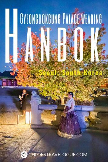 Why you should wear hanbok to Gyeongbokgung Palace & where to rent nearby   #Gyeongbokgung #hanbok #VisitSeoul #TravelKorea #AsiaTravel