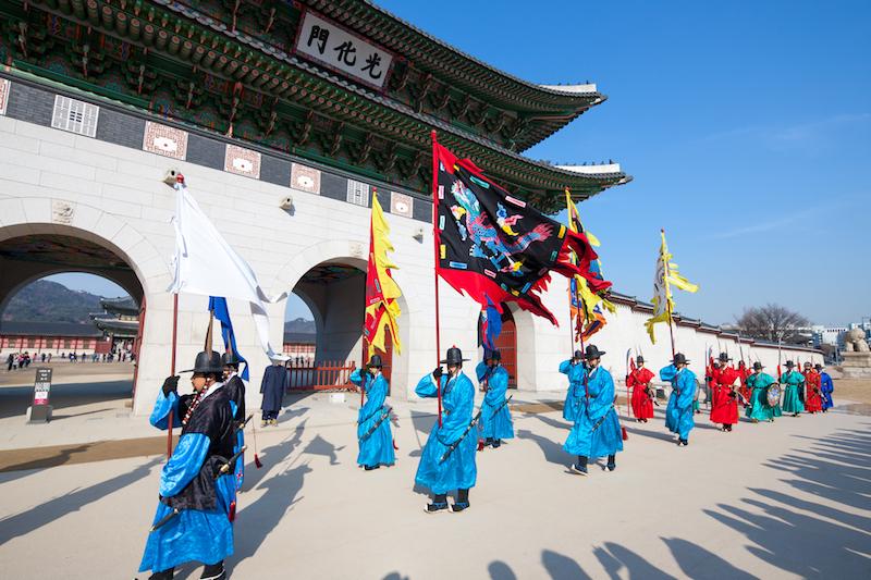 Gyeongbokgung Palace Changing of Guards Ceremony | #Gyeongbokgung #VisitSeoul #TravelKorea