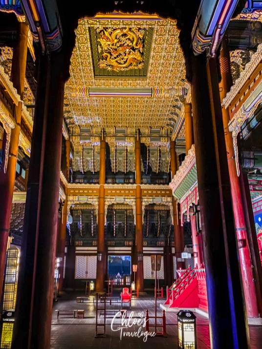 Gyeongbokgung Palace Tour: Geungjeongjeon is the Throne Hall for Joseon kings to handle important state affairs.   #Geungjeongjeon #Gyeongbokgung #VisitSeoul #TravelKorea