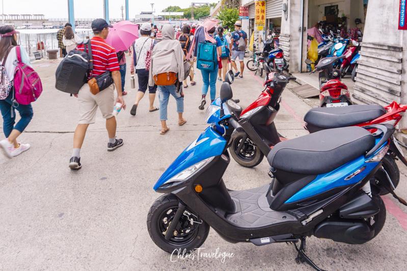 Xiao Liuqiu Scooter Rentals