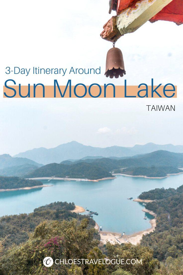 Sun Moon Lake Itinerary | Three days around Sun Moon Lake Taiwan | Where to Stay in Sun Moon Lake | #SunMoonLake #TaiwanItinerary #TaichungDayTrip