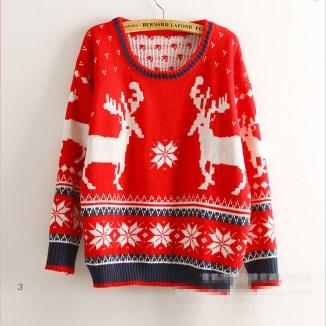 free-shipping-2014-fashion-cute-christmas-sweaters-for-women-winter-christmas-deer-fat-girl-sweater-loose