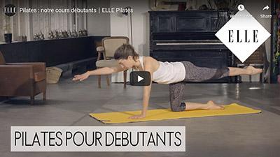 Elle Youtube_Cours de Pilates pour débutants