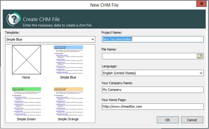 New CHM file