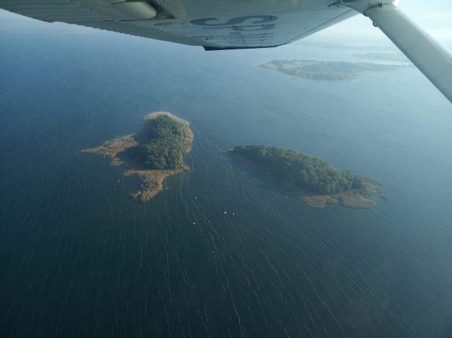 Wyspa Pajęcza i Czarci Ostrów
