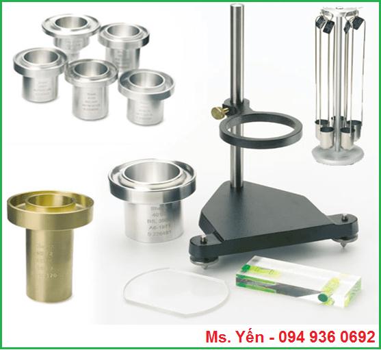 Cốc đo độ nhớt dùng trong ngành sơn mực in