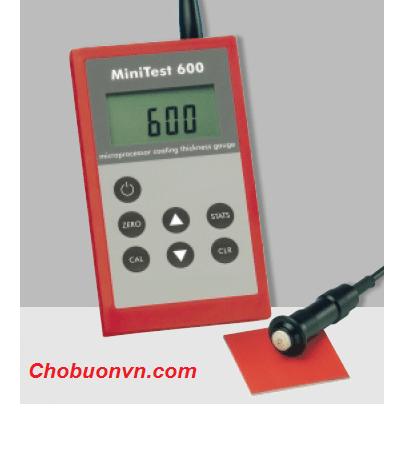 Máy đo độ dày lớp phủ Minitest 600 Sheen