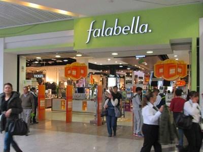Tiendas Falabella en Chile