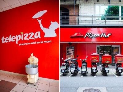 Telepizza y Pizza Hut se fusionan