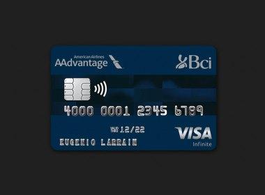 Tarjeta Visa Infinite de BCI y AAdvantage