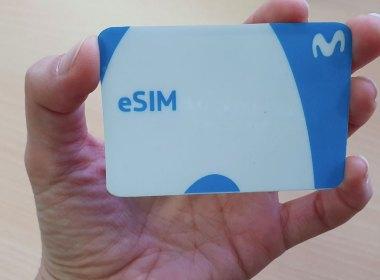 La nueva eSIM de Movistar Chile
