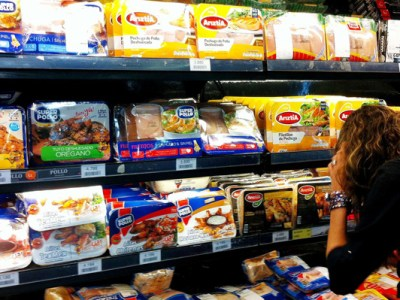 Colusión de los pollos y supermercados