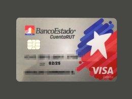 La nueva tarjeta de la Cuenta RUT con tecnología Visa Débito