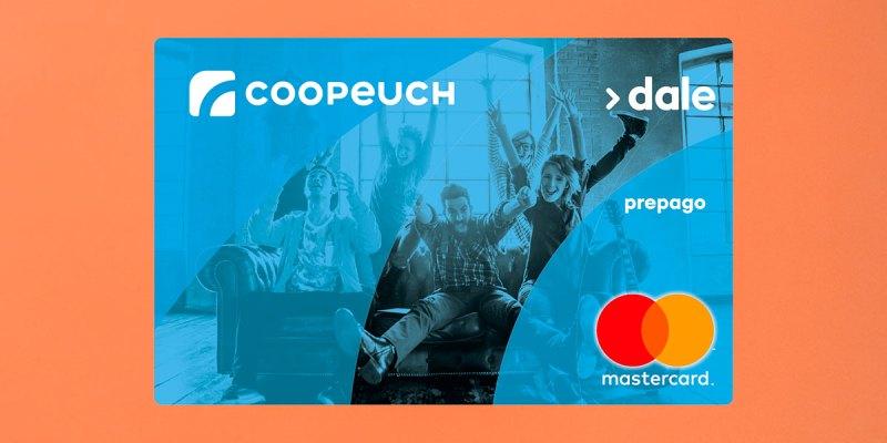 Tarjeta de prepago Dale! de Coopeuch